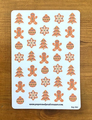 Stickers - Gingerbread