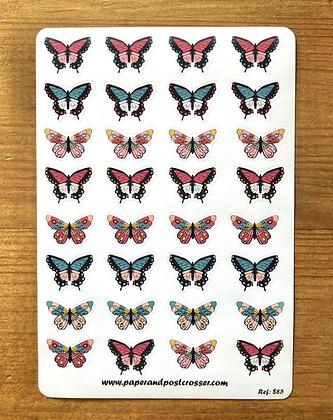 Stickers - Butterflies