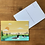 Thumbnail: Postcard - Duckies on a lake