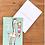 Thumbnail: Carte postale - Girafe qui mange une glace