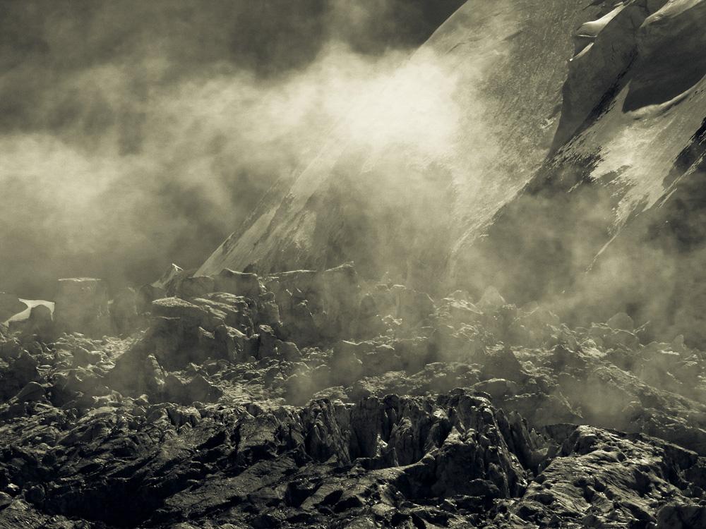 Glacier, Mont Blanc