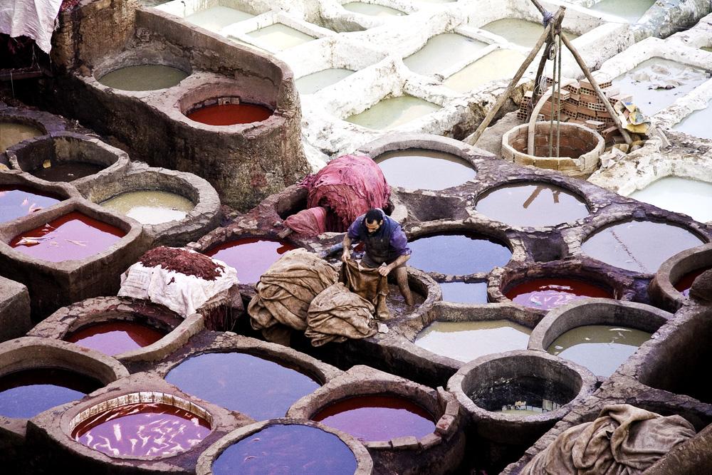 Dye Vats,  Fez