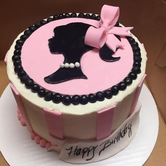 Classic Barbie cake