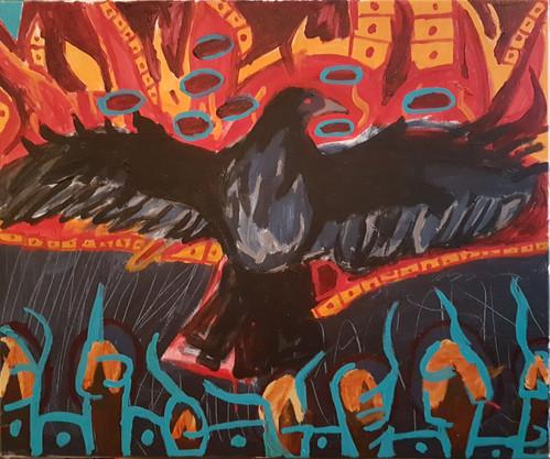 kâ-iskotêhat. / the one who flies through fire