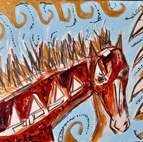 ljushäst / horse of light