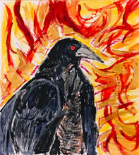 Crow of a New Day Sun