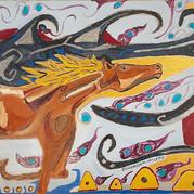 hästen vid världskanten / the horse at the edge of the world