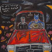 Cree Batman drives his Kôhkom to Bingo