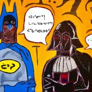 Cree Batman and Darth Vader: Rock, Paper, Scissors!