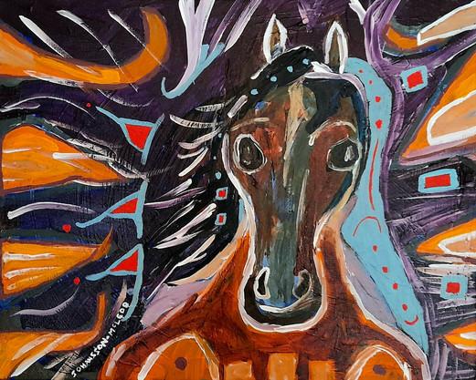 oskastim/ young horse