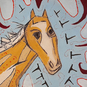 vårens häst / horse-of-spring