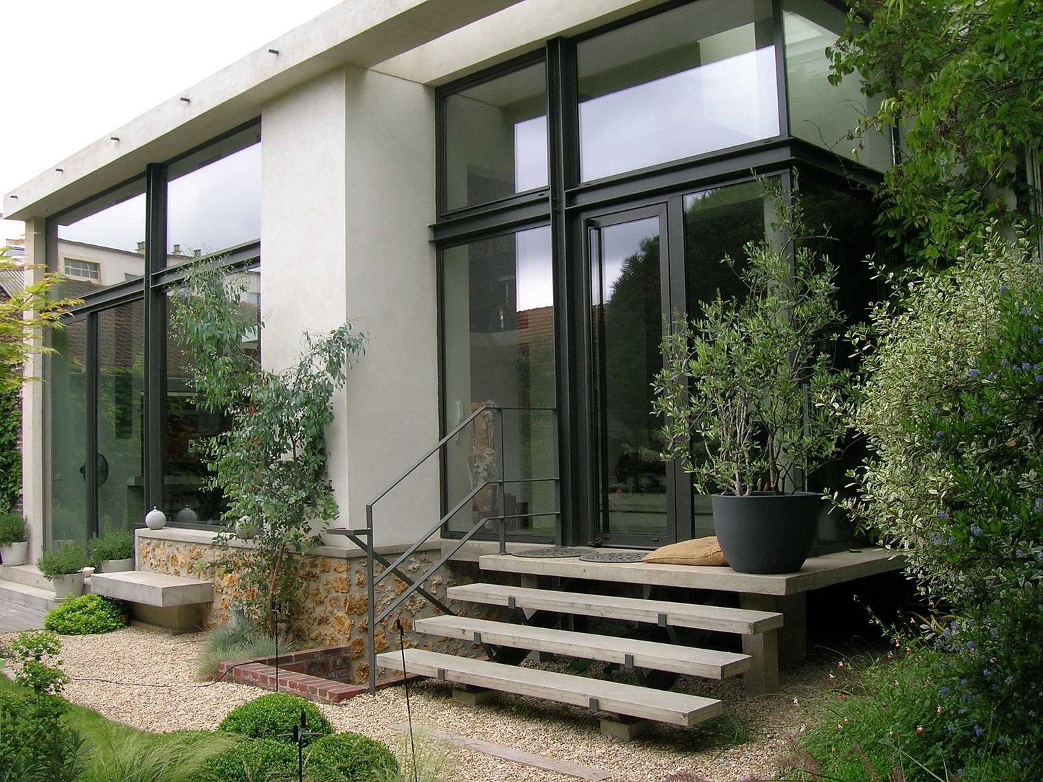 Miroiterie dewerpe fermetures miroiterie pour architectes et h tels - Franck salama ...