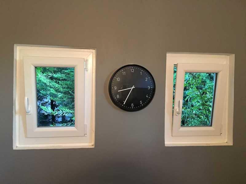 Petite fenêtre PVC