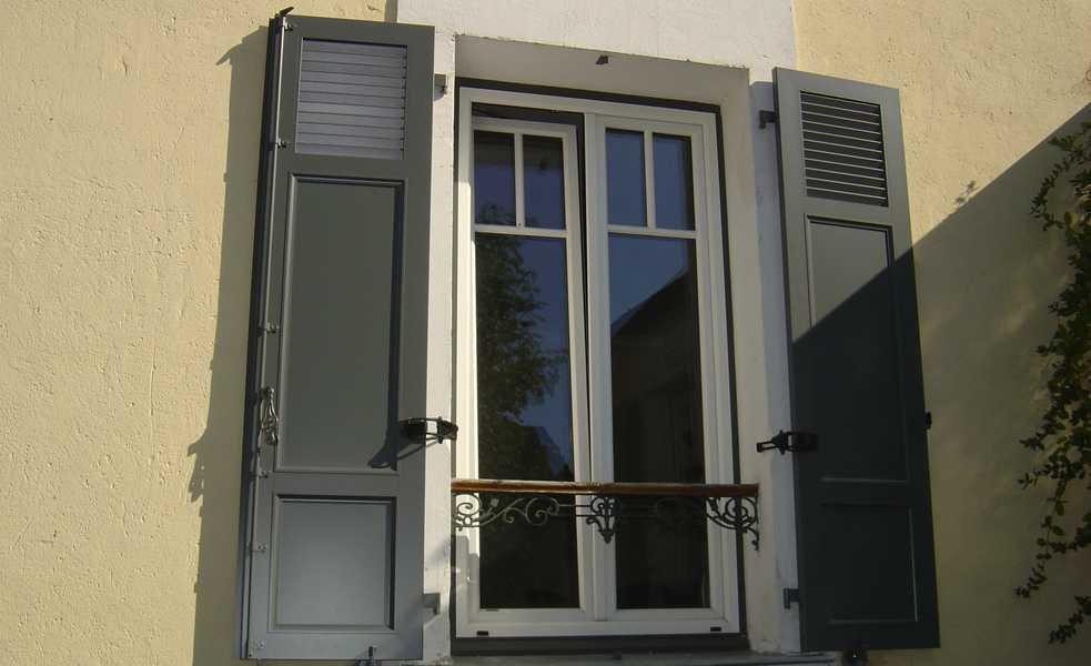 Fenêtre PVC 2 vantaux avec petits bois