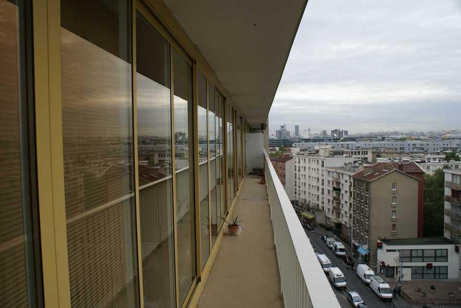 Baies vitrées coulissantes décor ton or