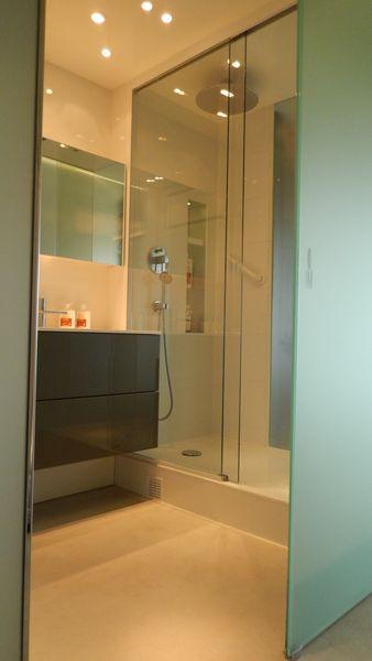 Miroiterie Dewerpe - Porte de douche cou
