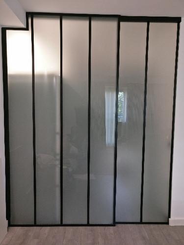 Miroiterie Dewerpe-cloison vitree avec p