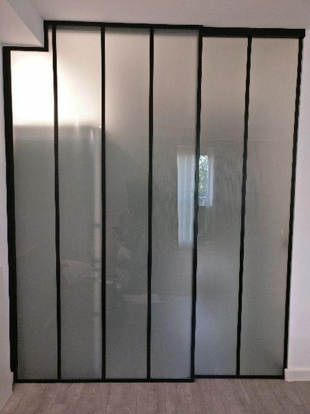 Cloison vitrée