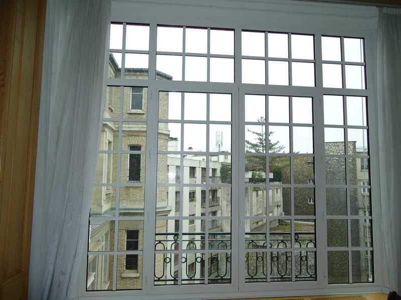 Fenêtres avec petits bois