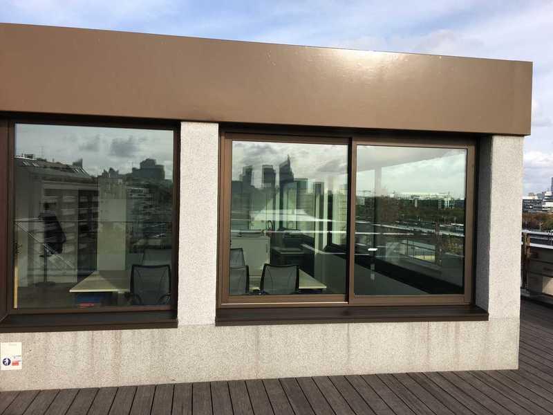 Fenêtre coulissante 2 vantaux