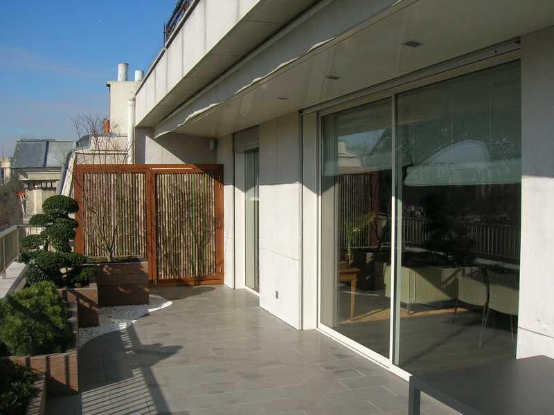 grande baie vitrée coulissante 2 vantaux