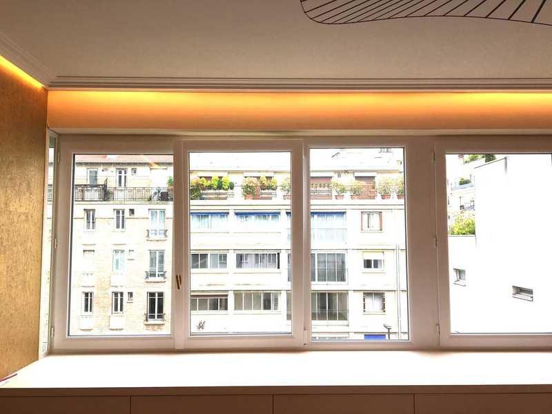 Fenêtre PVC - châssis composé