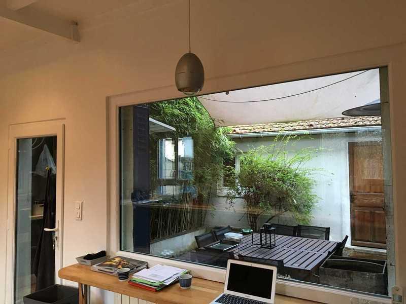Fenêtre fixe et porte-fenêtre PVC