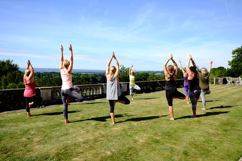 Taking Yoga Outdoors