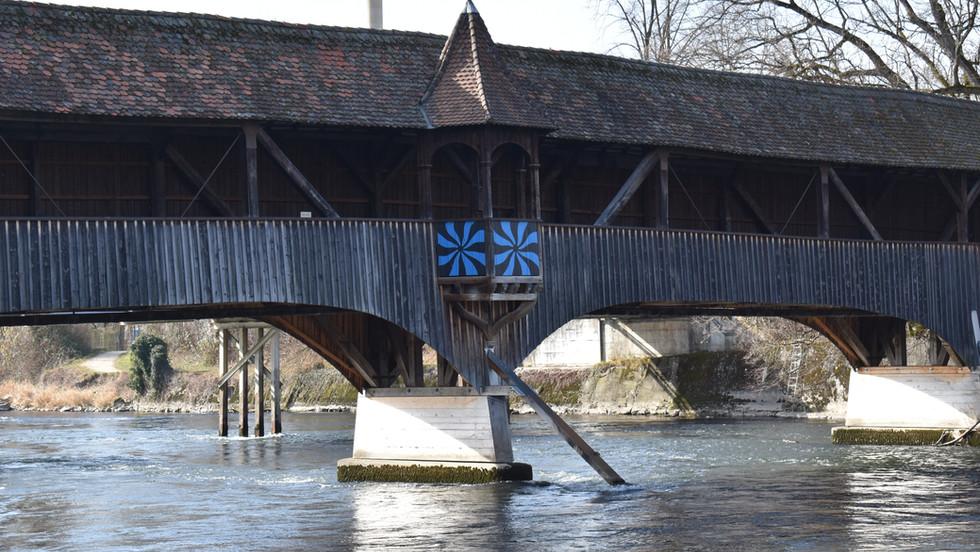 Holzbrücke, Turgi