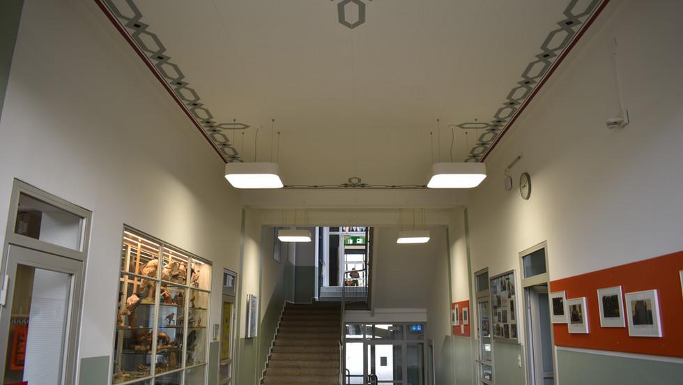 Treppenhaus, Schulhaus Windisch
