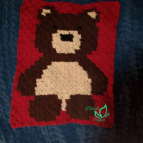 C2C Bear Blanket