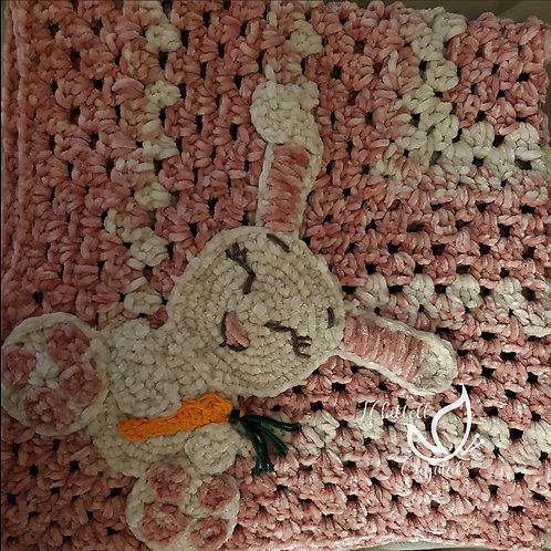 Soft Bunny Baby blanket