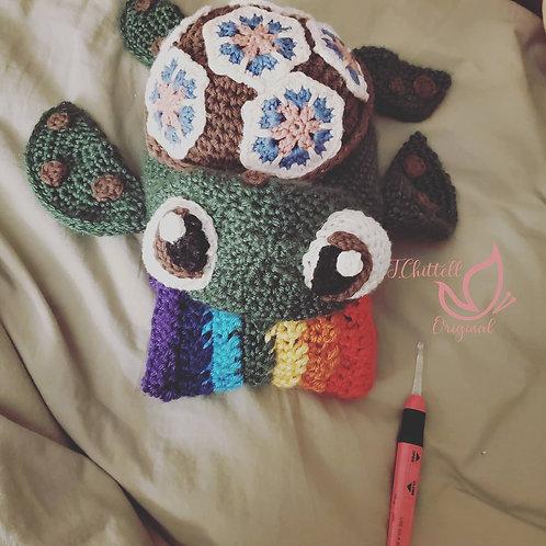 Turtle Barf Scarf (Rainbow)
