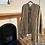 Thumbnail: Grey Tweed Cape Scarf