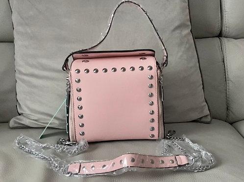Pink Studded Bag
