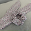 Thumbnail: Pink Floral Scrunchie & Hair Scarf Tie Set