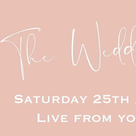 The Virtual Wedding Fayre Live From Your Sofa!