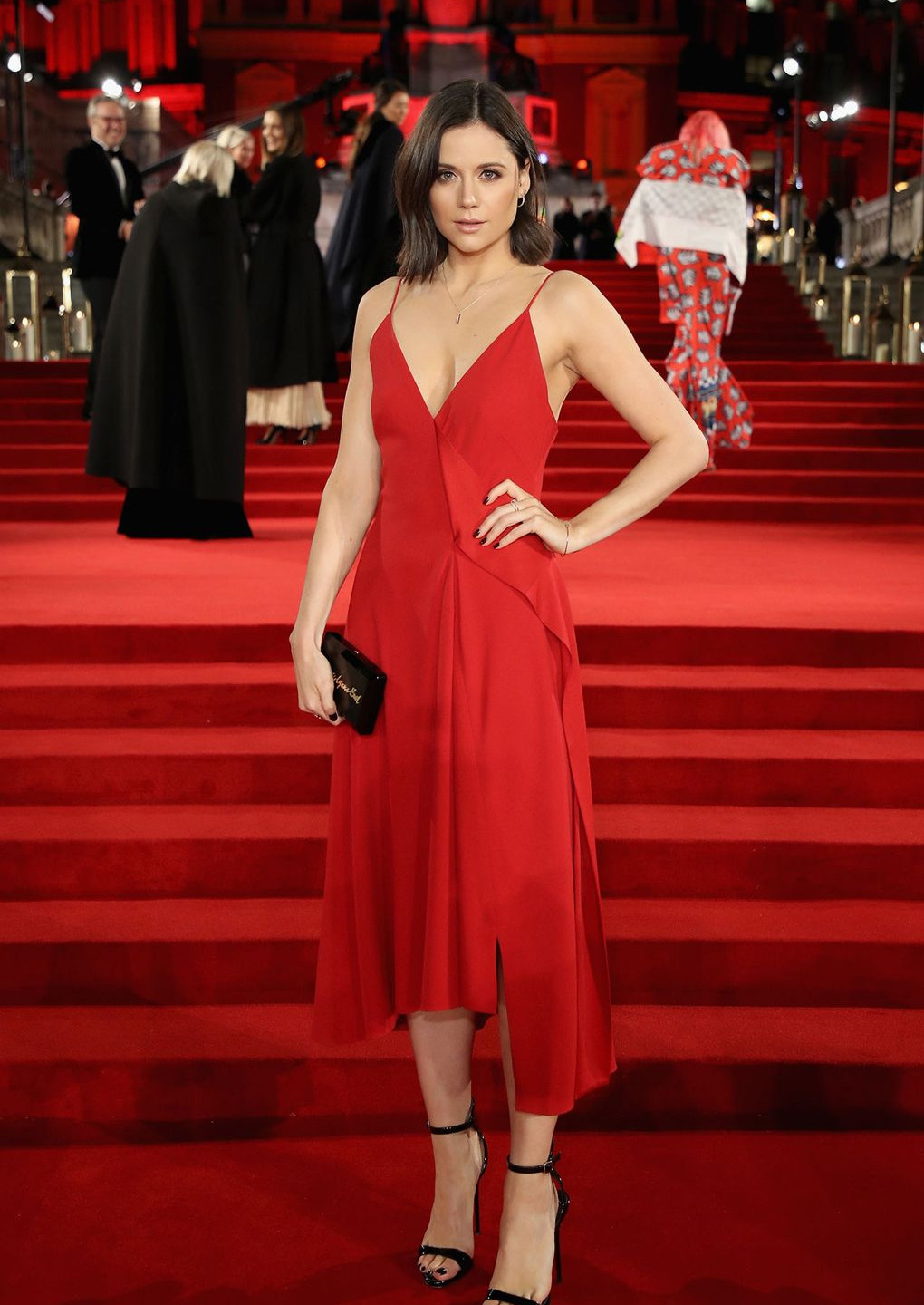 Lilah Parsons in Victoria Beckham