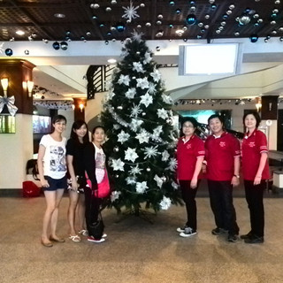 My Xmas deco team at Warren Golf Country