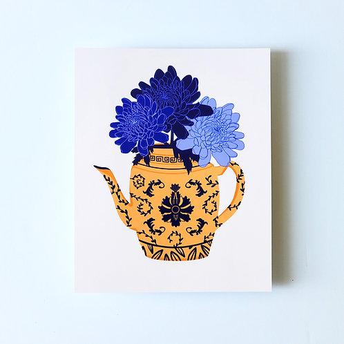 chrysanthemum tea - art print