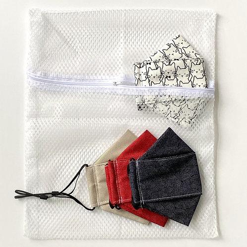 mesh laundry bag - masks