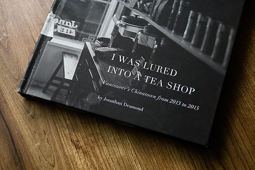 I Was Lured Into a Teashop - softcover