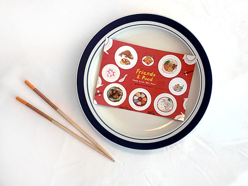 happy lunar new year stickers