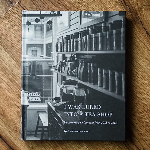 I Was Lured Into a Teashop - hardcover
