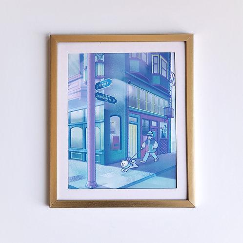 Shanghai Alley print
