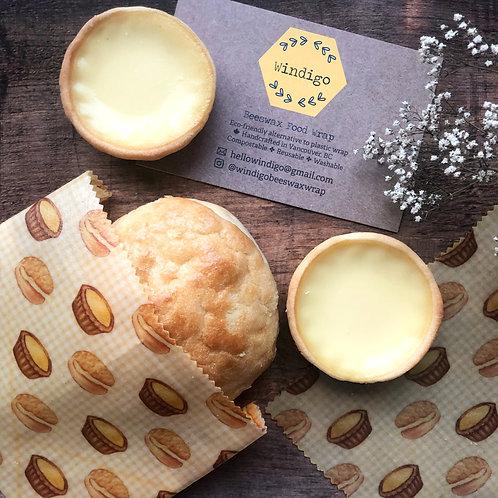 beeswax food wrap - small