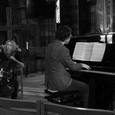 Performing with Pianist Dom Mason