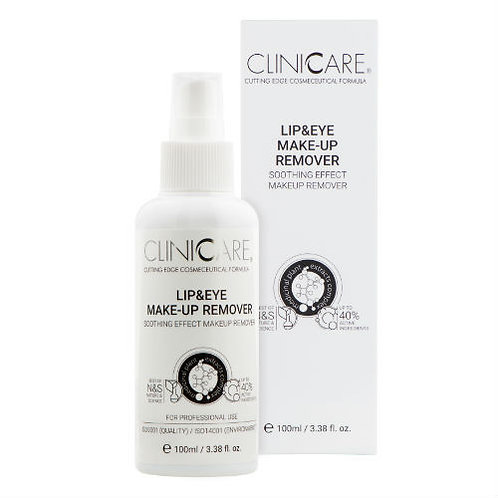 Clinicare Lip & Eye Make-Up Remover 100ml