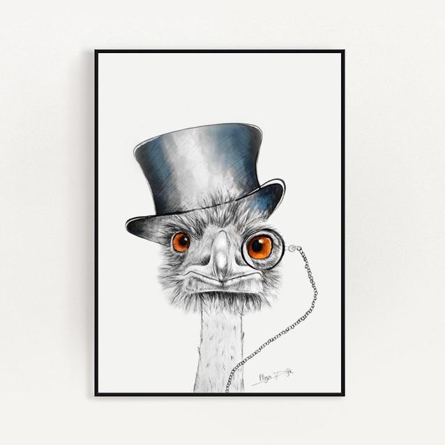 Struisvogel in lijst.jpg