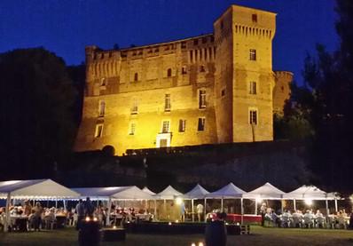 Evento notturno al Castello